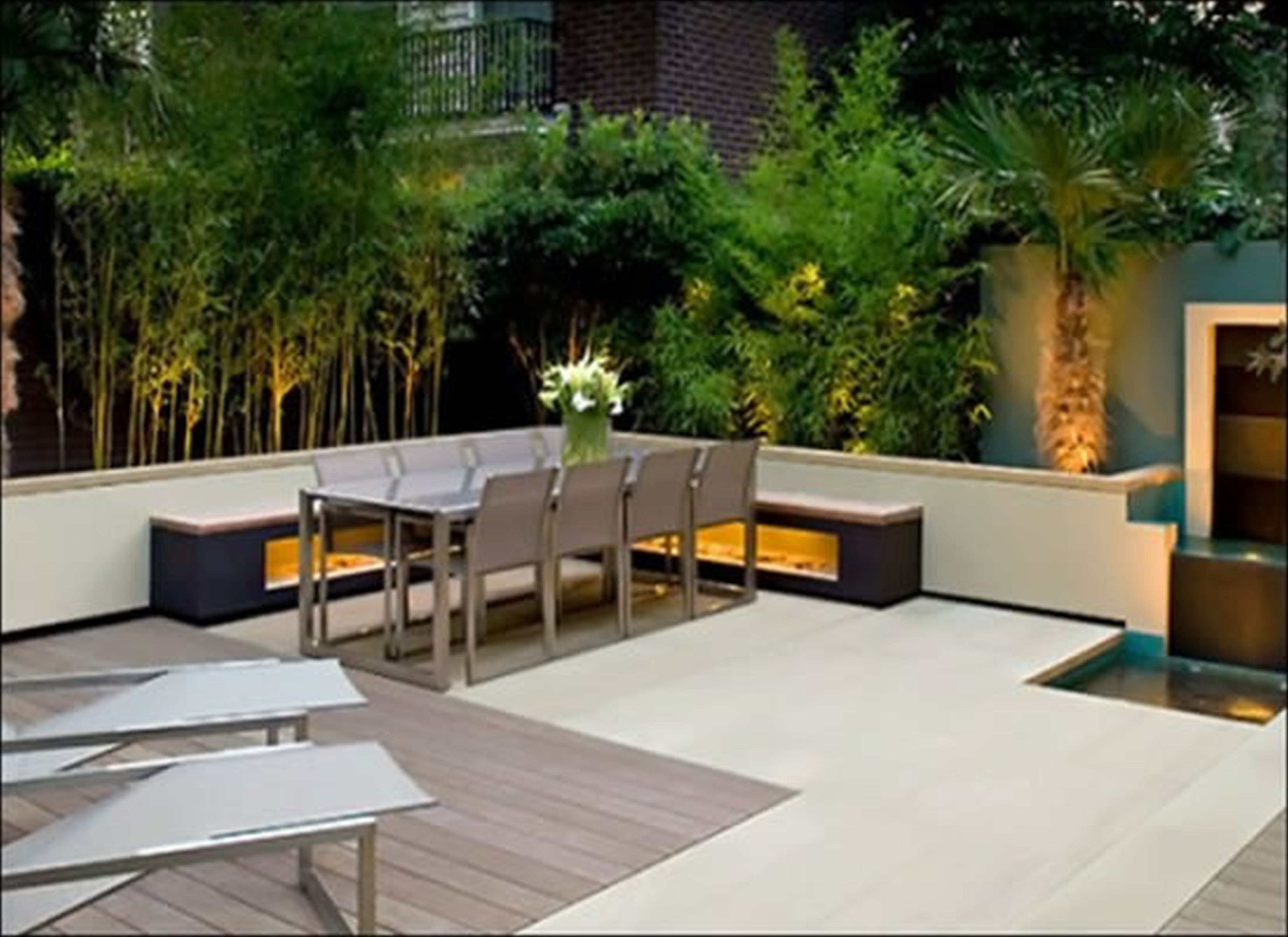 How to create a Magnificent private backyard. | CCD ... on Modern Small Patio Ideas id=75867