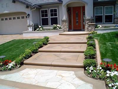 Magnificent Outdoor Stair Designs. | CCD Engineering Ltd on Concrete Front Yard Ideas id=95052