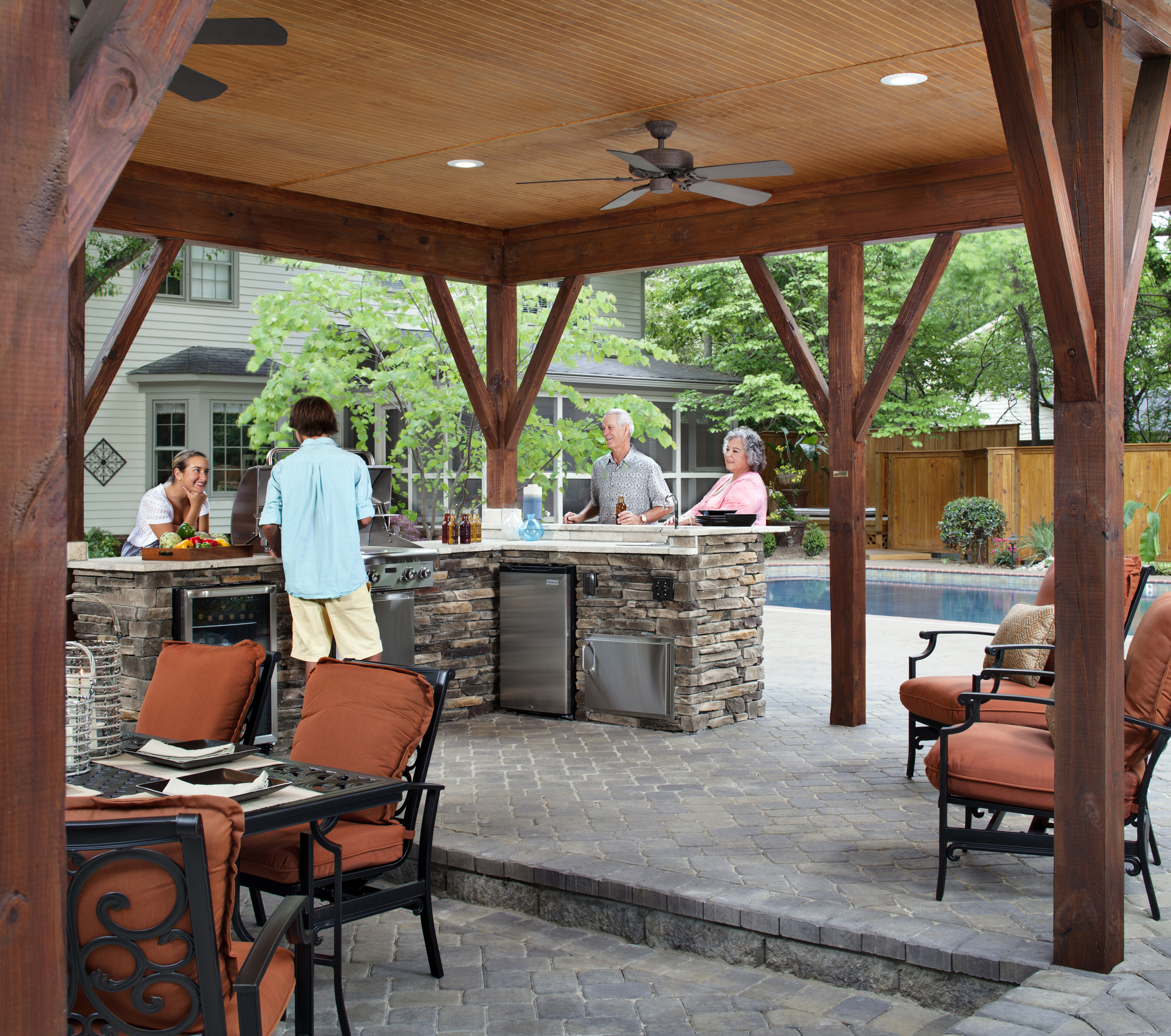 How to Design Your Perfect Outdoor kitchen: Outdoor ... on Patio Kitchen  id=65109