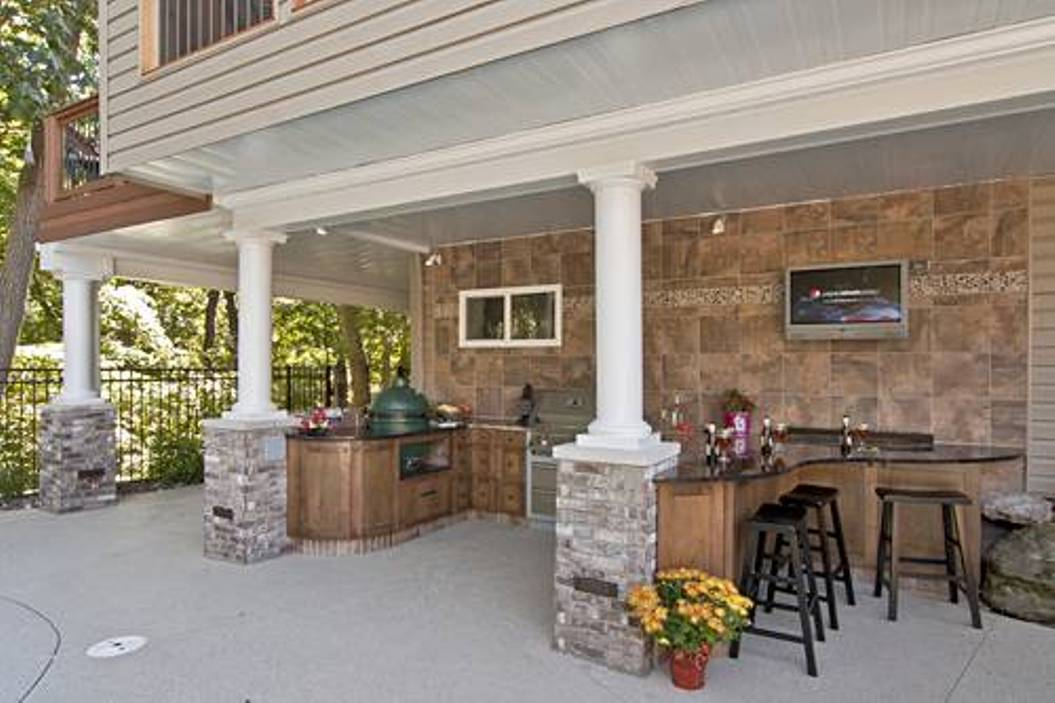 How to utilize the space under your deck.   CCD ... on Under Deck Patio Ideas id=71912