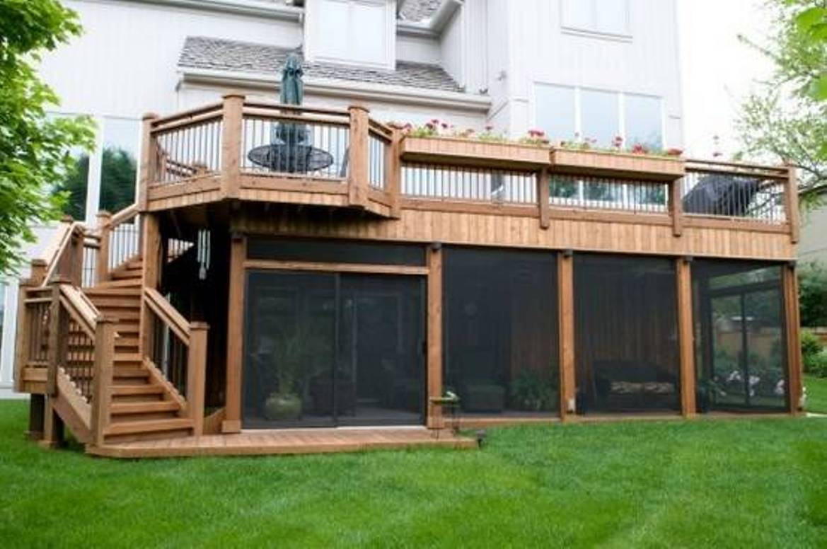 How to utilize the space under your deck.   CCD ... on Under Deck Patio Ideas id=68981