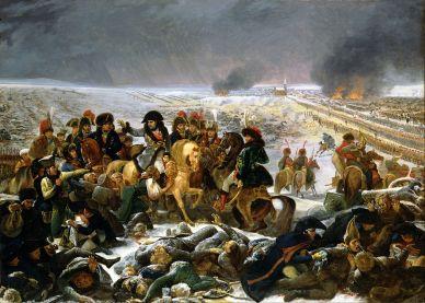 Antoine Gros. La batalla de Eylau. 1807. Museo del Louvre
