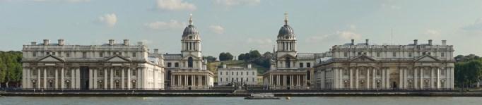 Christopher Wren. Hospital de Greenwich.