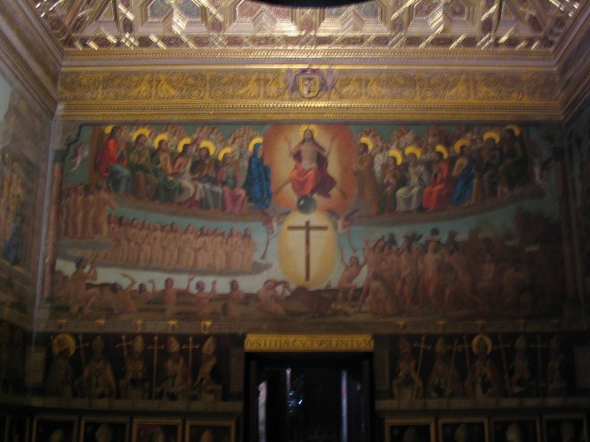Juicio Final. Juan de Borgoña. Sala capitular. Catedral de Toledo