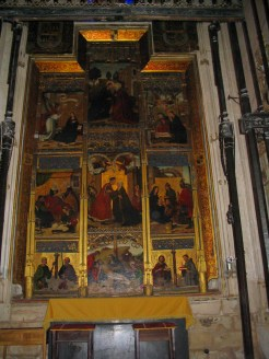 Retablo capilla Catedral de Toledo