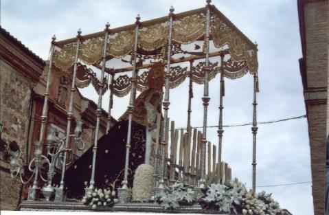 Virgen de los Dolores. Herencia (Ciudad Real) foto del autor en 2006