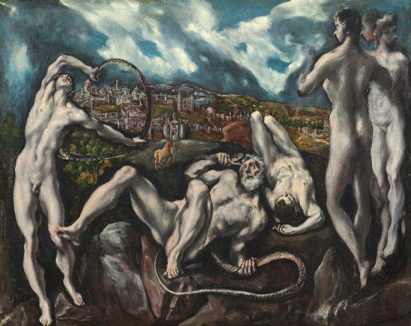 El Greco. Laocoonte. foto: wikipedia