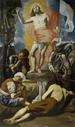 Juan Bautista Maíno. Resurrección. Museo del Prado.
