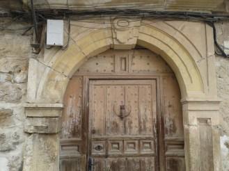 Portada de la Casona Mudéjar s. VII.