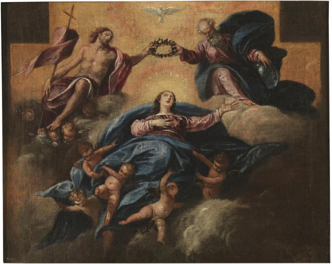 Herrera Barnuevo. Asunción de la Virgen. ca. 1650. Museo del Prado