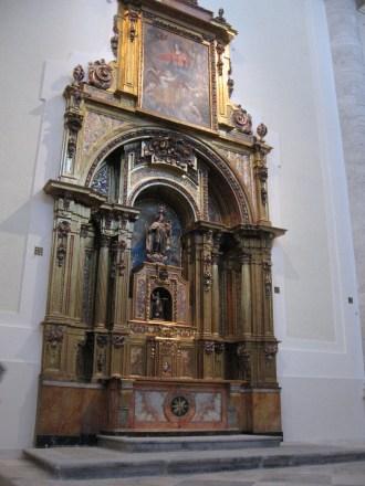 Retablo Virgen del Carmen.