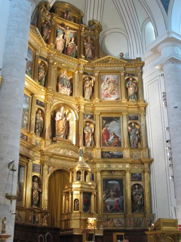 Detalle retablo mayor
