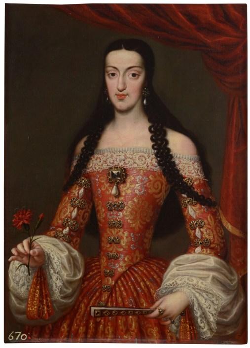 Retrato de María Luisa de Orleans. Museo del Prado.