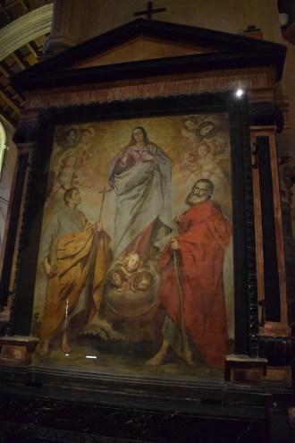 Inmaculada con San Felipe y Santiago. Catedral de Córdoba