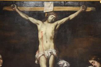 Calvario, detalle del Cristo.