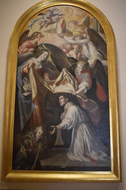 Imposicion de la casulla a San Ildefonso. Museo de Bellas Artes de Córdoba