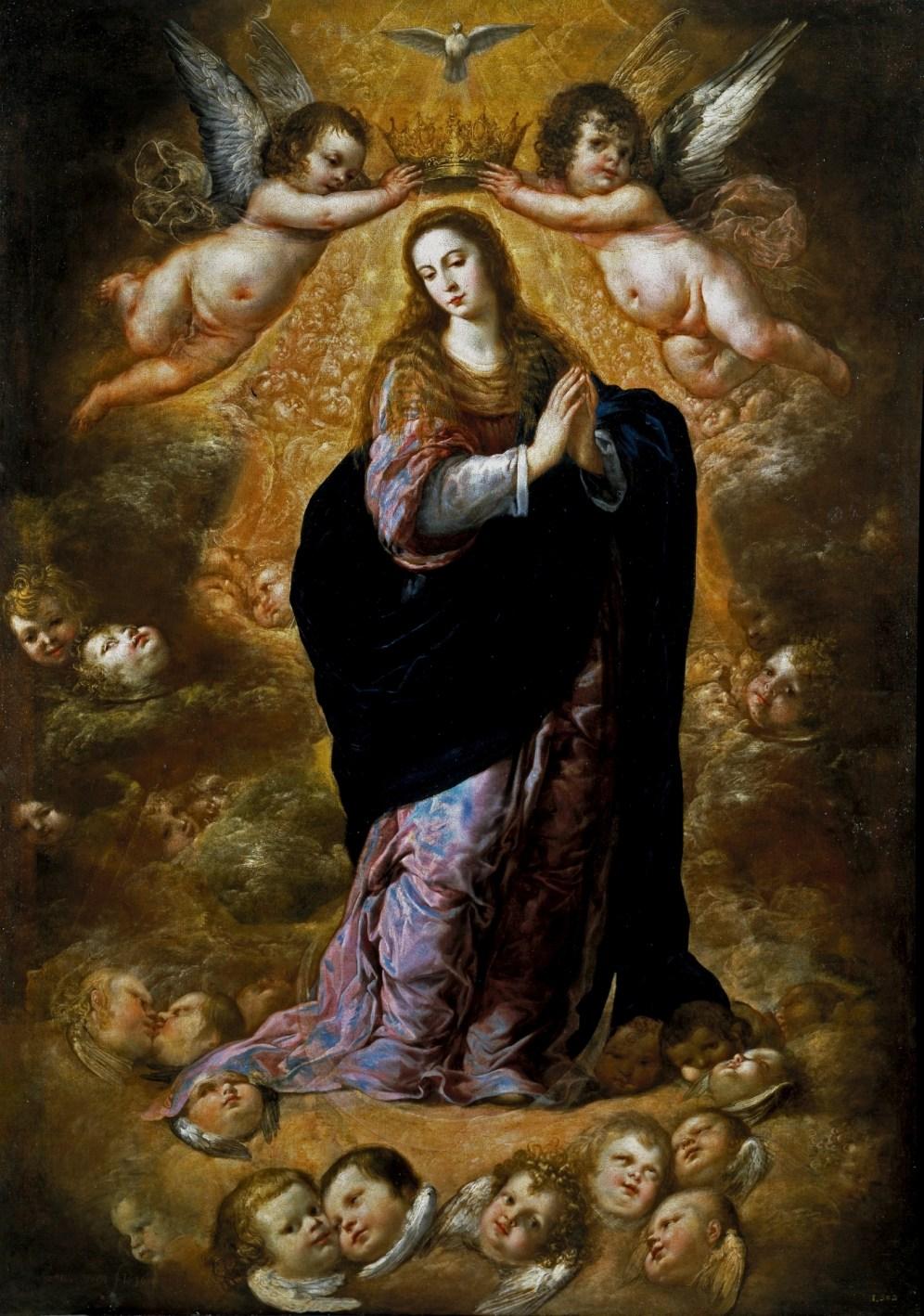 Antonio de Pereda. Inmaculada Concepción. Museo del Prado.