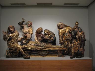 Juan de Juni. Entierro de Cristo. Museo Nacional de Escultura de Valladolid.