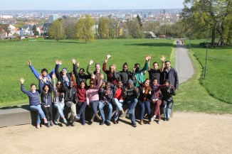 The CIPSEM Cours participants with Dr. Schmidt.