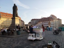 street music in the Altstadt