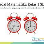 latihan soal menentukan waktu hari dan jam