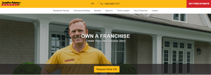 Great Franchise Business Ideas - Painting Franchise Business