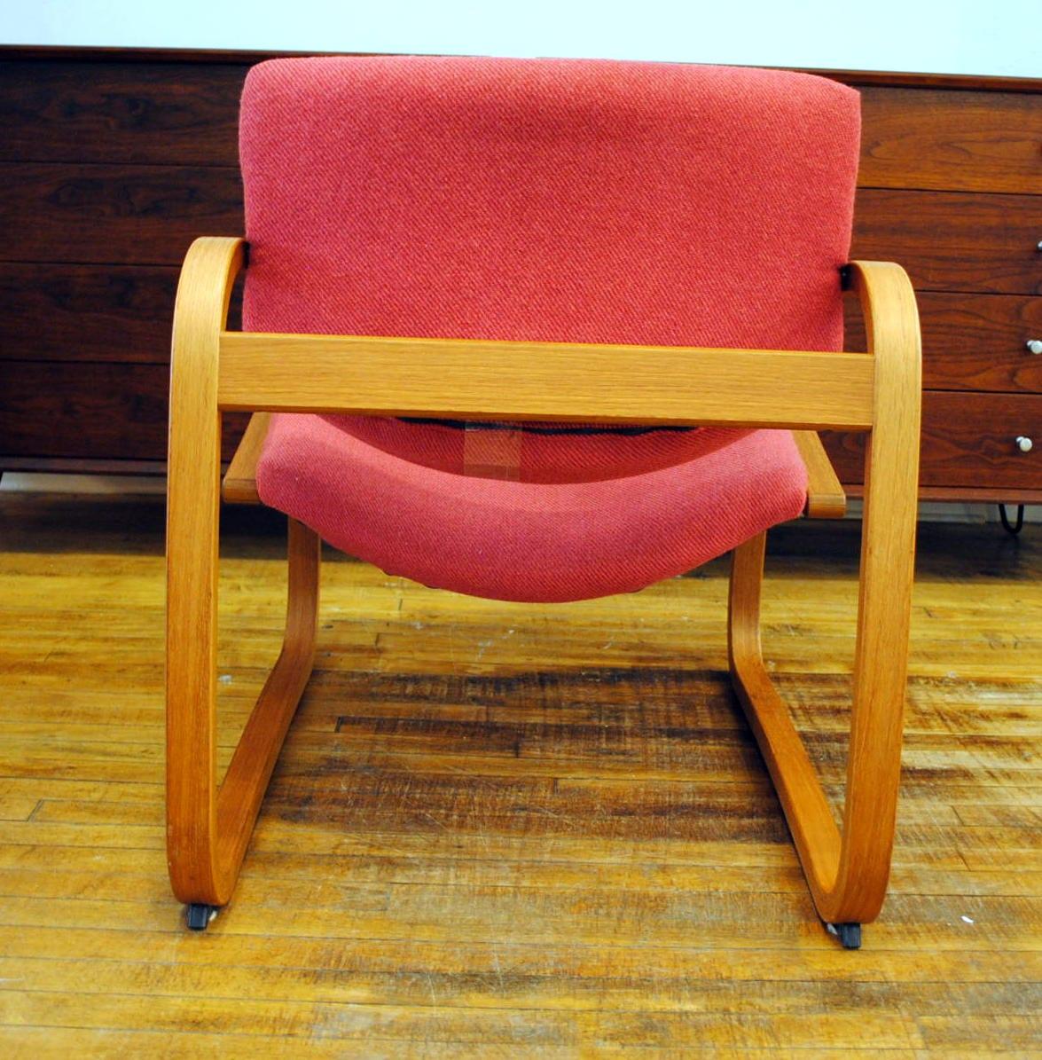 Norwegian Tilt Back Lounge Chair