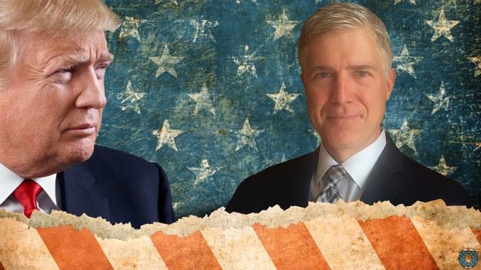 Donald Trump Neil Gorsuch supreme court