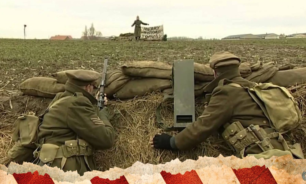 christmas truce world war 1