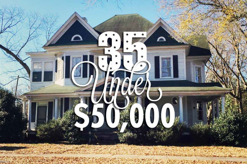 35 Beautiful Historic Homes For Sale For Under 50000