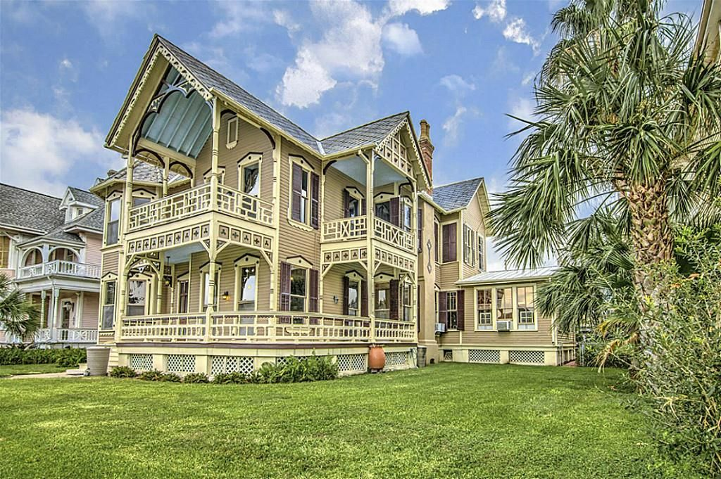 1887 Stick Style House For Sale In Galveston Texas