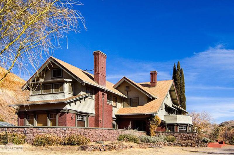 1908 Greenway House In Bisbee Arizona