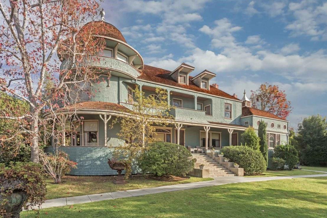 1888 The McNally Mansion In Altadena California