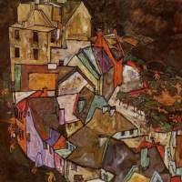 Arquitecturas y  paisajes de  Schiele.