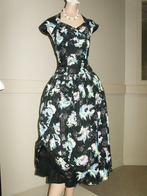 50s party frock