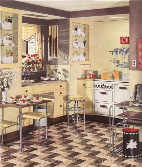 My 1940s Kitchen Circa Vintage Clothing