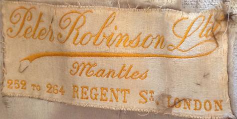 Robinson's label