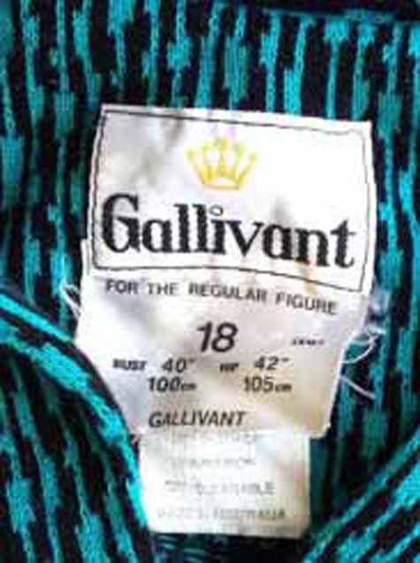 Gallivant label late 1970s