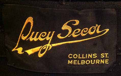 Lucy Secor 40s label 2
