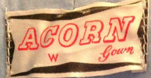 Acorn 40s housecoat label 300