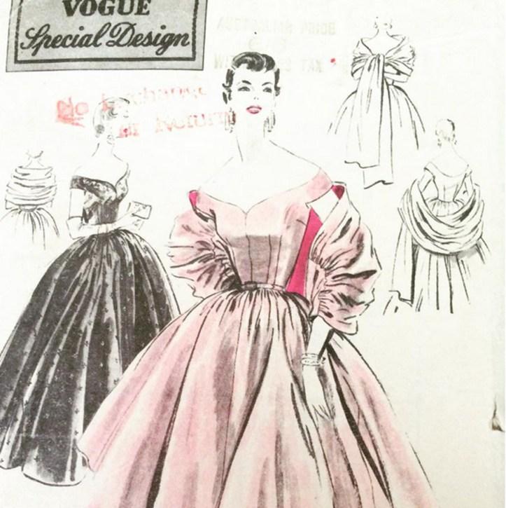 Vogue pattern 4