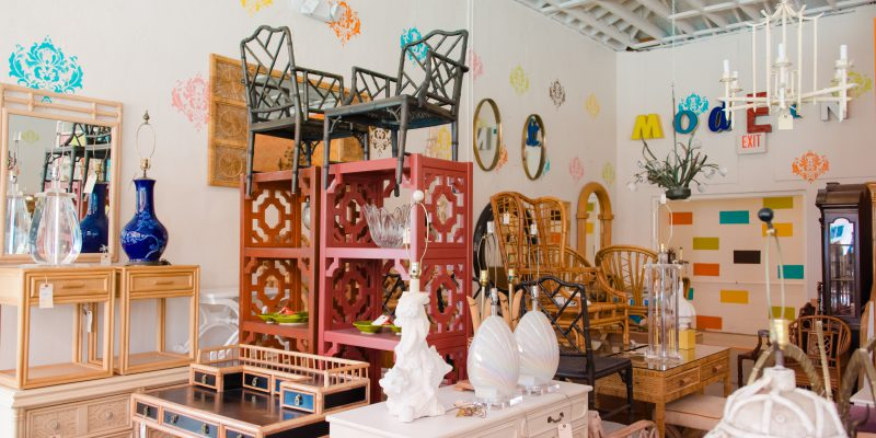 Your go-to place for vintage chairs and tables.