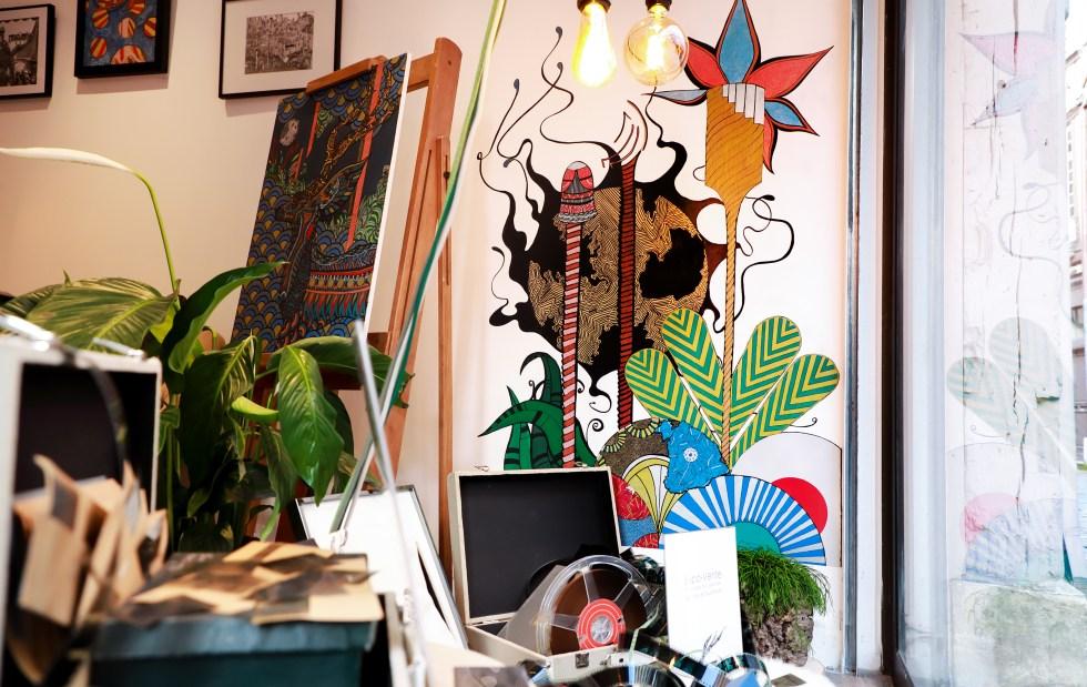 Galerie D'art CirceZaar rue damiette Rouen