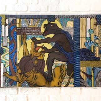 toile de l'artiste Zaar Galerie en ligne Circezaar Rouen
