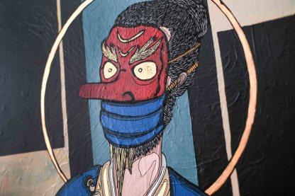 Un tengu masqué