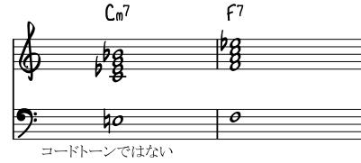 Non chord