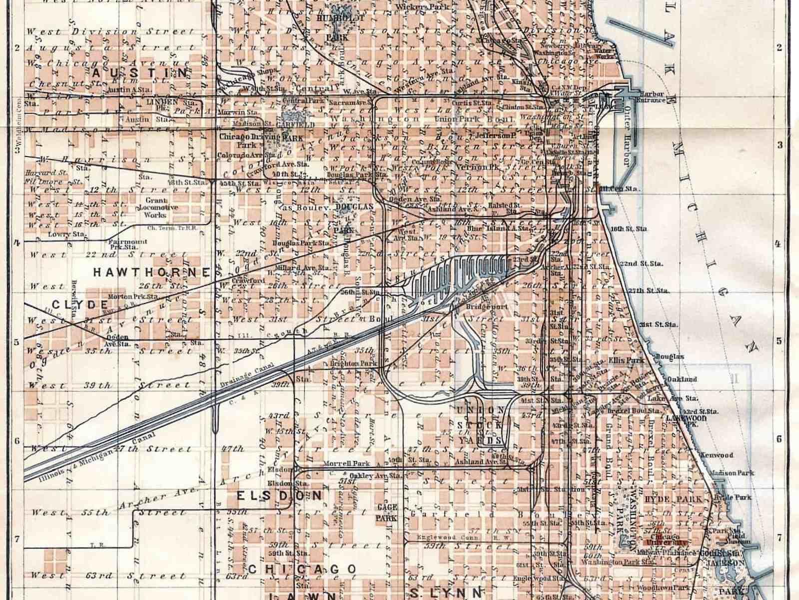 1112 Chicago, 1909 – Circle 7 Framing