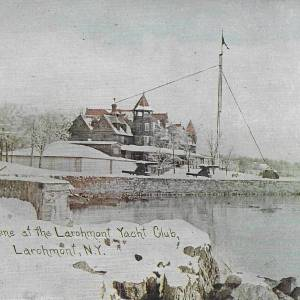 Larchmont Yacht Club, Winter 1910
