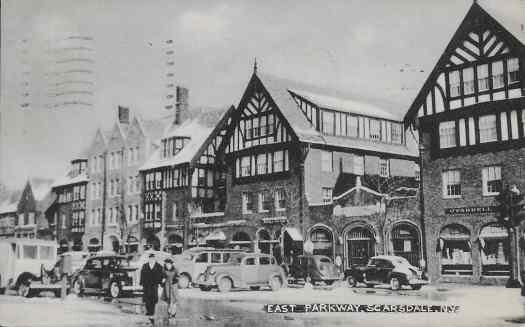 vintage postcard scarsdale