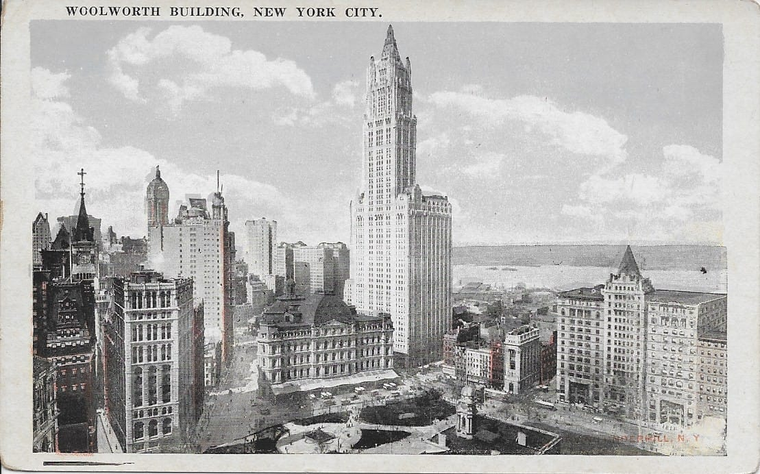 3743 Woolworth Building, ca1920s – Circle 7 Framing